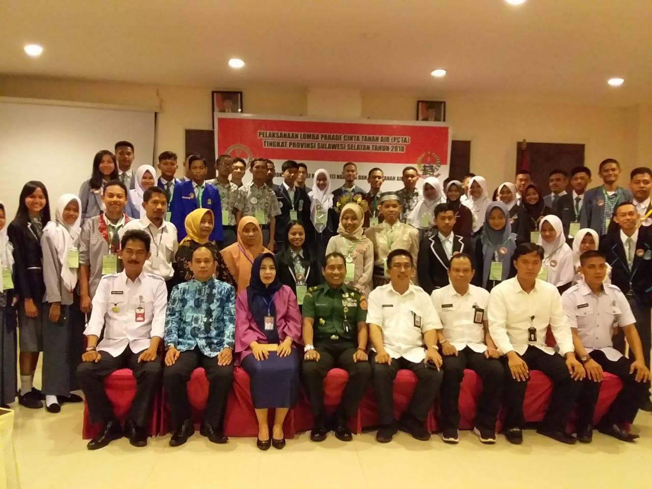 Juara Harapan III Parade Cinta Tanah Air Tingkat Provinsi Sulawesi Selatan 2