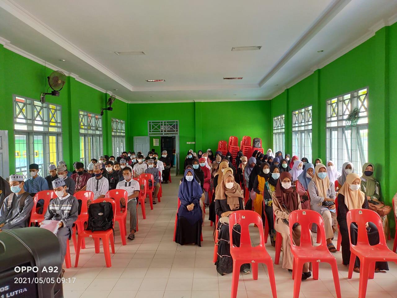 Peserta Pesantren Kilat Ramadhan 2021